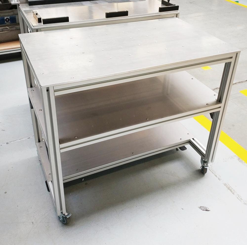 <b>Konstrukcje z profili aluminiowych</b>